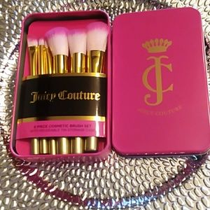 Juicy Couture Cosmetic Brush Set